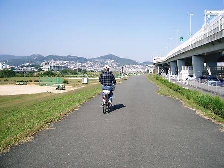 猪名川堤防道