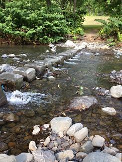 キャンプ一番川