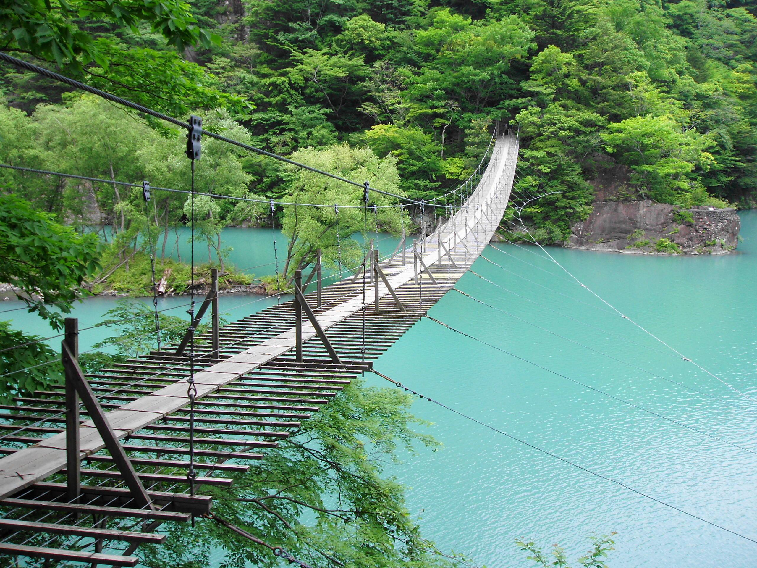 HARIBOの日記 寸又峡温泉を訪れ、夢の吊り橋を渡る