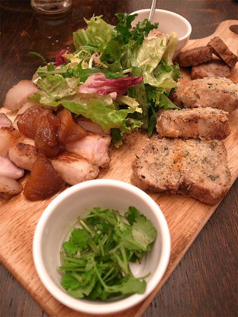 131221enso玉宮-豚肉三種盛り・改