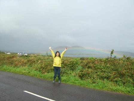 yoko in rainbow