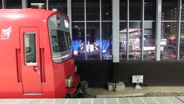 名鉄 太田川駅2階