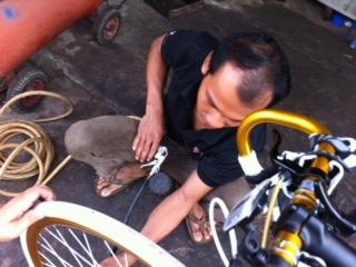 シェムリアプ自転車屋