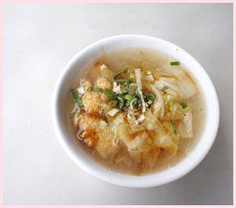 鰆の米粉スープ