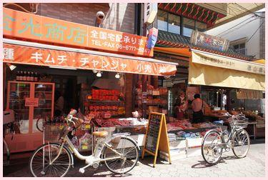 生野コリアンタウン商店街1