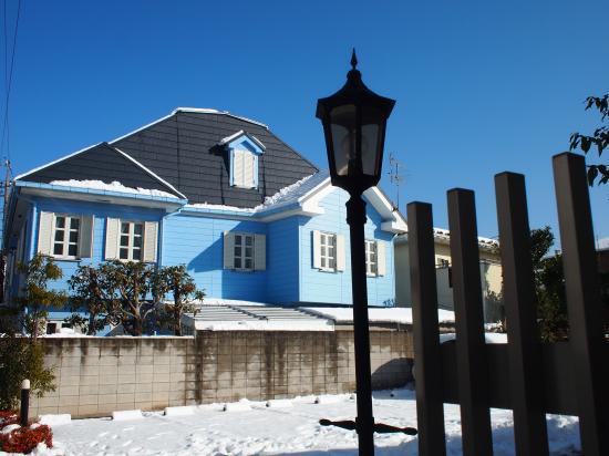豪徳寺の雪景色②