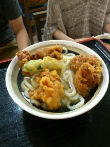 麺蔵(かしわ天)