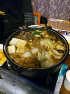 神戸牛ですき焼き
