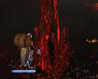 燃える木1