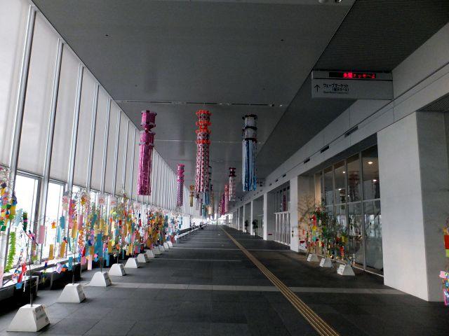 2013年7月7日万代島美術館通路