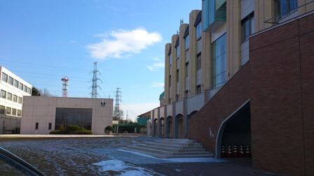 大学の中庭