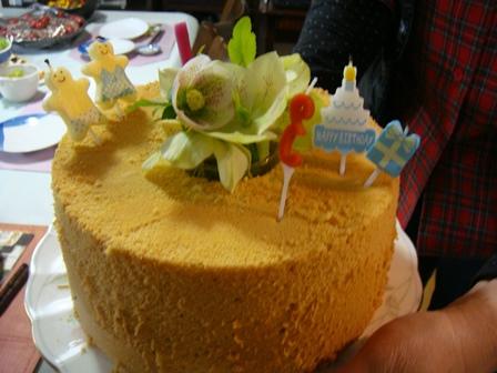 バースデーケーキ!.