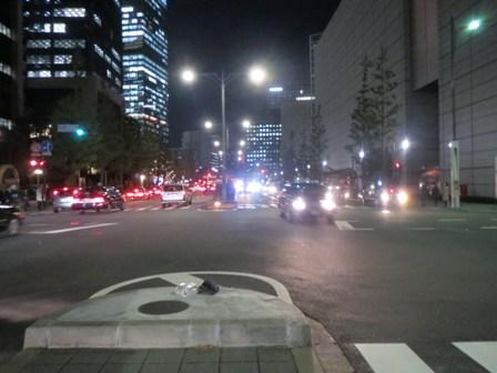 丸の内の道路