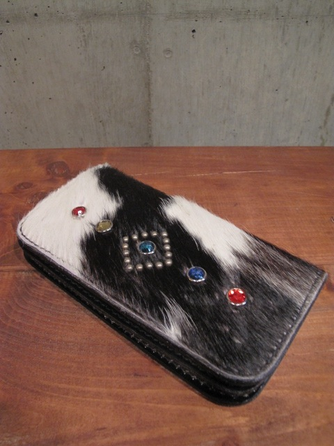 O.C Style HAIR ON HIDE LEATHER WALLET