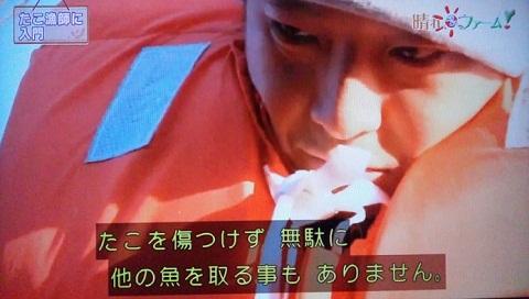 20130223用・たこ漁・龍一さんアップ