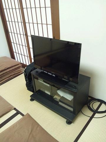 20130414用・控室のテレビ
