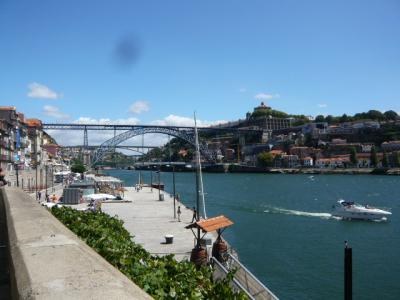 ポルトガル・ポルト「ドナウ川沿いでランチ」1