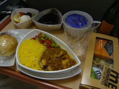 エミレーツ航空「マドリッド→ドバイ」2