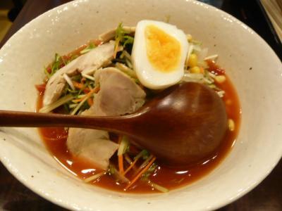 秋葉原「炎麺のトマト麺」5