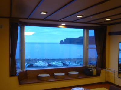 知床グランドホテル北こぶし「展望和洋室と夕食」4