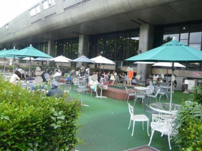 上野公園「カフェ ヒビキ」2