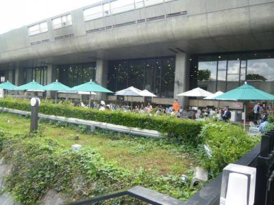 上野公園「カフェ ヒビキ」1