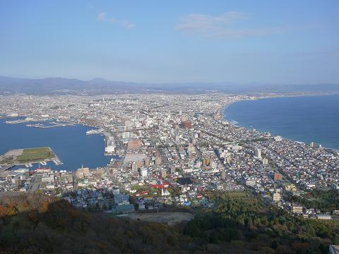函館からの眺め