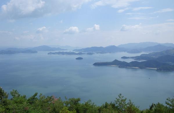 筆景山からの景色