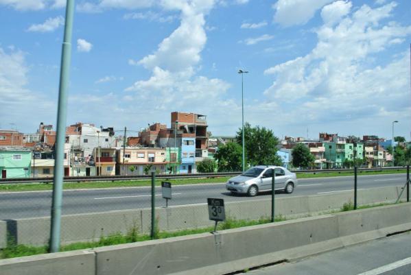 ブエノスアイレスの街並み