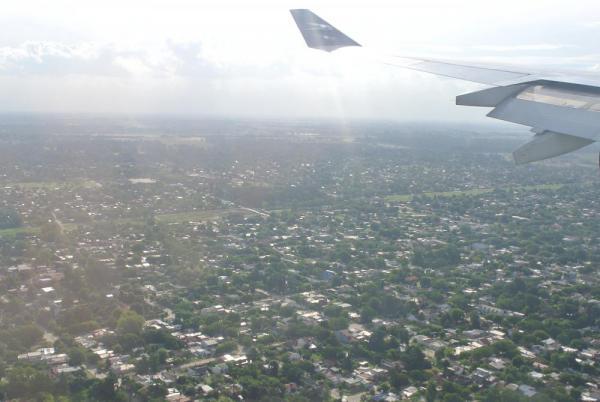 ブエノスアイレスに到着