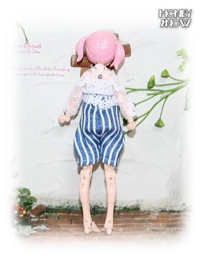1/12DOLL 【サロペット】 武装神姫、figma、リボルテック、オビツ11、ピコニーモ