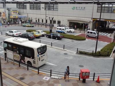 南千住駅前(西口)ロータリー