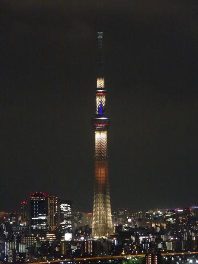 9月7日東京スカイツリー午後11時まで特別ライティング!