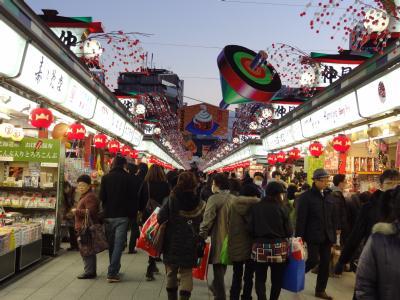 浅草・羽子板市2012