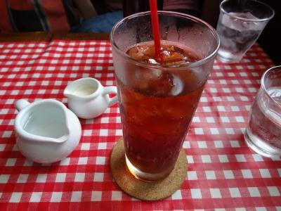 山谷・泪橋にある人気カフェ「CoCoRo」アイスティー