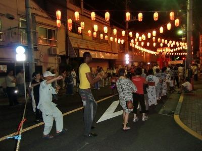 山谷の盆踊り大会 ②