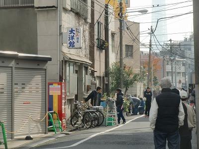 ロケ現場になった清川町の宿