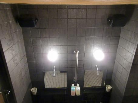 本館浴室 USENの二つのスピーカー