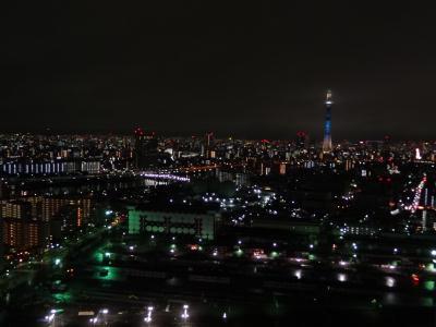 東京スカイツリー 七夕限定ライトアップ!天の川をイメージ