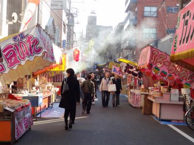 2012 浅草・酉の市 出店(屋台)