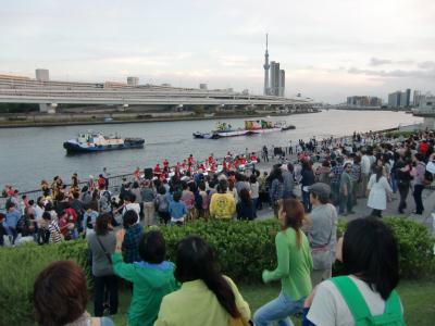 隅田川夕日見のイベント ⑤