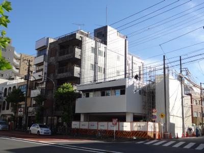 東京・山谷(日本堤)に新しくできるスーパーの外観