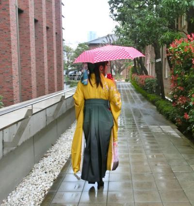 雨の卒業式2