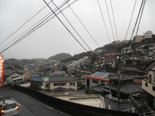 今日も雨です。