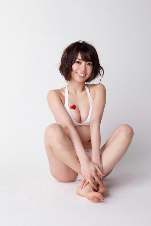 大島優子 白い下着画像