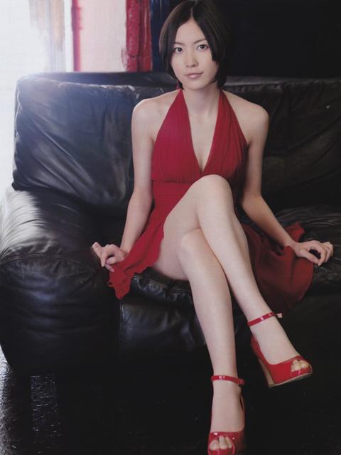 松井珠理奈 セクシードレス画像