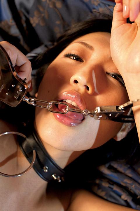 壇蜜 手錠と首輪をされた画像