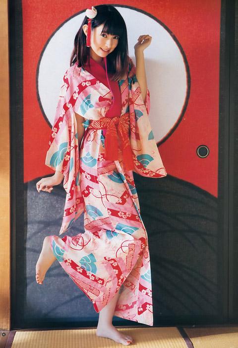 日南響子 着物姿のかわいい画像2