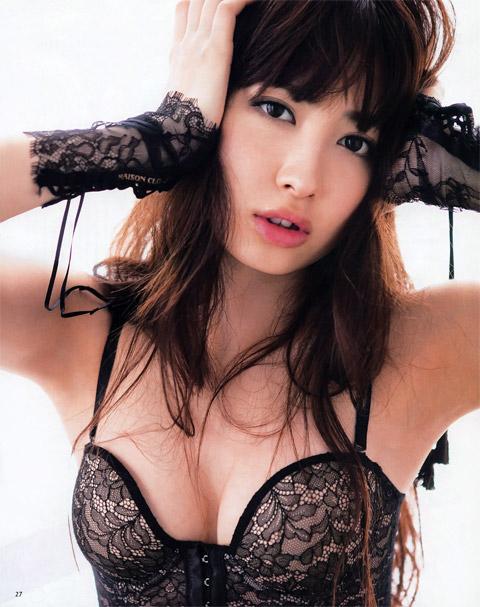 小嶋陽菜 エロい下着の画像