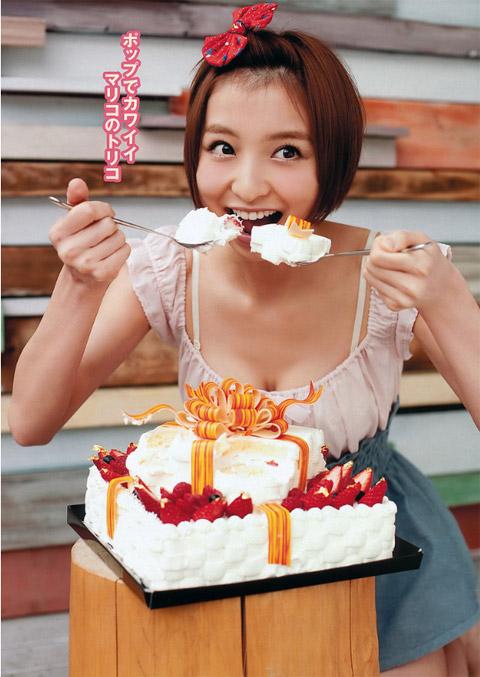 篠田麻里子 ポップでかわいい画像